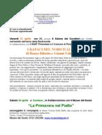 Serata rapaci, Erbette, Scienza in piazza