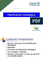 Planeacion Estrategica Molina