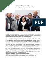 DPA Voeux 2016 Discours Baldo PDF