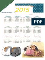 Kalender 2015 Animal