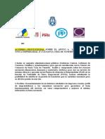 Ventanilla única, acuerdo institucional Cabildo Tenerife 27.11.15