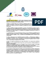 Derecho a La Vivienda, Acuerdo Institucional Cabildo Tenerife Pleno 27.11.15