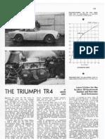 AUTOSPORT 1962 -Triumph TR4 Performance Report