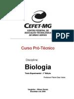Apostila Biologia CEFET PDF