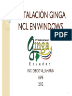 Instalación Ginga Ncl en Windows
