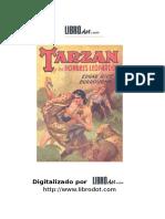 Tarzan y Los Hombres Leopardo