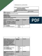 Programa de La Asignatura y Apuntes Acto