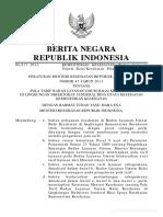 PMK No.45 Tahun 2013 Ttg Pola Tarif Balai Kesehatan