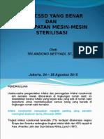 Alur CSSD Yang Benar Dan Penempatan Mesin Sterilisasi-Edit