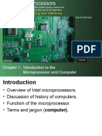 The Intel Microprocessors Chapter 1