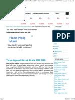 Three Jagoan Internet, Gratis 1000 SMS _ Pulsa Paket Internet Terbaru 2015