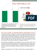 The Federal Republic of Nigeria