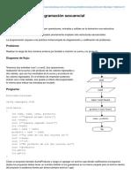 5 - Estructura de Programación Secuencial