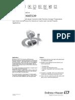 2.-Sonda Promediadora de Temperatura NMT539