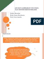 Ppt Usg Hepatobilier Sistem