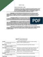 smart goals worksheet7 doc