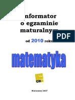 Matematyka 2010