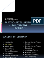 Electro-optic Devices - Ray Tracing