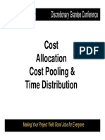 Breakout Cost Allocation