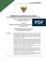 Perda RTRW Kab Kubar 2011-2031