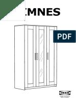 Brimnes Wardrobe With Doors 3 doors