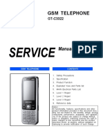 Samsung Gt-c3322 Service Manual