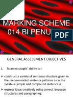 Tov 2016 - Marking Scheme
