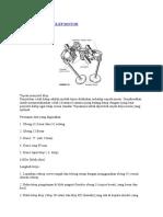 Cara Menyetel Klep Motor