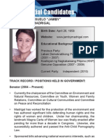 [Philippine Elections 2010] Madrigal, Jamby Profile