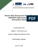 3cd Manila-DRMMP Impl Meeting Report