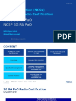 3G NPO NCSx Certification Preparation Slides