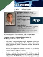[Philippine Elections 2010] Perlas, Nick Profile
