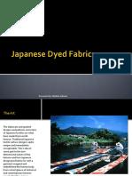 Japanese Dyed Fabrics