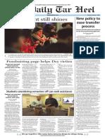 The Daily Tar Heel for Feb. 1, 2016