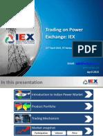 3 - Trading on IEX Mr. Sudhir Bharti