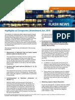 KPMG Flash News Highlights on Companies (Amendment) Act 2015
