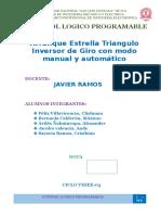 Arrancador Estrella Triandulo Con Inversor Automatico y Manual.