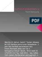 Trauma in Pregnancy 13