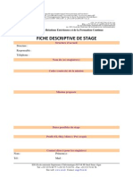 ESI Fiche Proposition Stage
