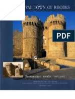 Medieval Town of Rhodes, Restoration Works (1985-2000)_Part One