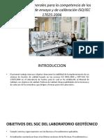 Requisitos Generales Para La Competencia Laboratorios de Ensayo ISO-IEC