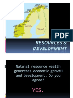 Natural Resources and Development NORWA