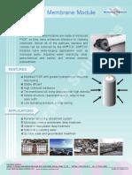 PVDF+FUF+UF+Membrane+module+for+Industrial+Purpose