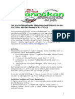 The Final Final_2015 International Sanrokan Conference on Bio