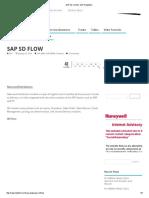 Sap Sd Flow _ Sap Simplified