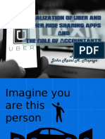 Ride Sharing apps and the role of Accountants