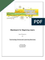 Blackboard Skills for Beginning Users SI2008