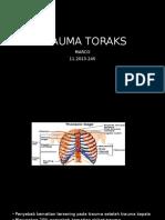 Trauma Toraks Radiologi