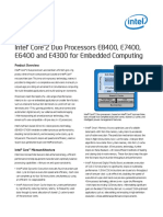 Intel® Core™2 Duo Processors E8400_E7400_E6400_E4300- Brief