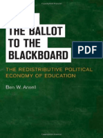 Redistributive Political Economy of Education